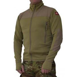 MLV - Tactical Tight Fleece (TTF), u/hætte, Khaki, 3XL