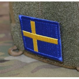 Swedish Flag - on velcro