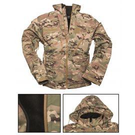 MIL-TEC - Softshell Jakke, Multi camouflage