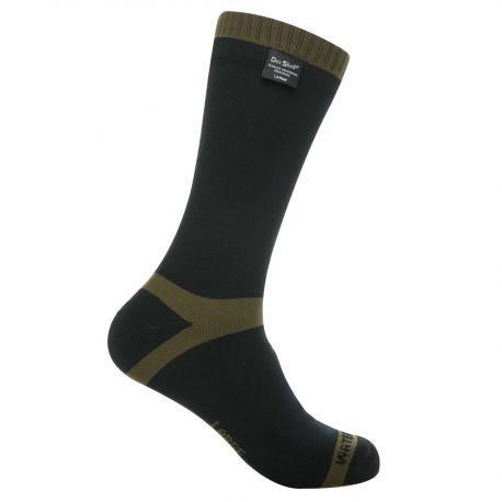 DexShell - Vandtæt Trekking Sock, Oliven/Sort