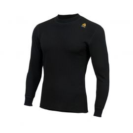 ACLIMA - Hotwool Shirt Crewneck, sort
