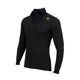 ACLIMA - Hotwool Polo W/Zip, black