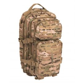 MIL-TEC - Assault Backpack with Laser Cut, small, Multicamouflage