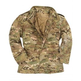 MIL-TEC - Combat Jacket M65 model with liner, Multicamoflage