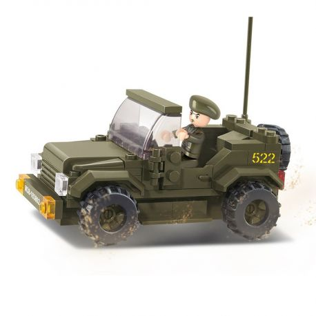 Sluban - Army Jeep - M38-B0296