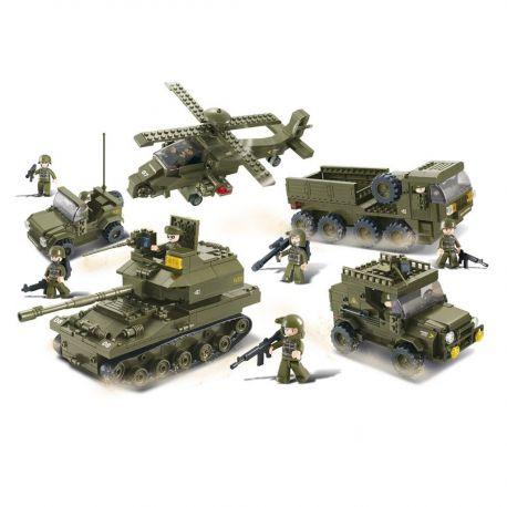 Sluban - Army Sæt - M38-B0311