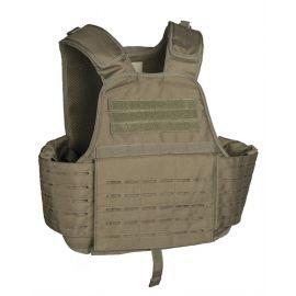 MIL-TEC Laser Cut Carrier Vest, Oliven