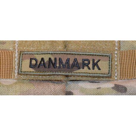 DANMARK -  MultiCam på velcro