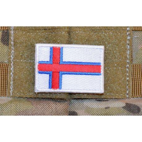 Merkid - Færøernes Flag på velcro