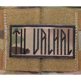TIL VALHAL Patch, 8cm X 4cm, MultiCam