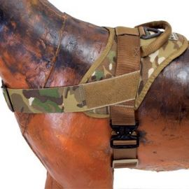 Elite K9 – Taktisk Patrulje Harness med Cobra® spænde, MultiCam
