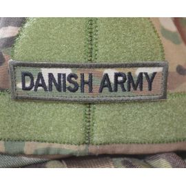 DANISH ARMY, MultiCam på Velcro