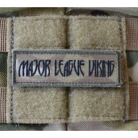 MLV - Major League Viking Patch, MultiCam on Velcro