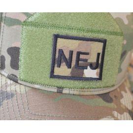 Patch til NEJ Hatten - MultiCam - med velcro