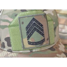 Feltgradstegn Sergent, MultiCam på Velcro