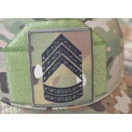 Feltgradstegn Oversergent, MultiCam på Velcro