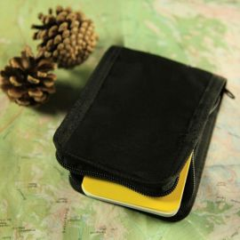 Tactical Notebook Cover - Brystlomme, Black