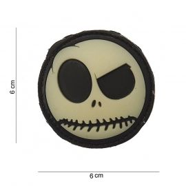 Nightmare Smiley 3D PVC Patch