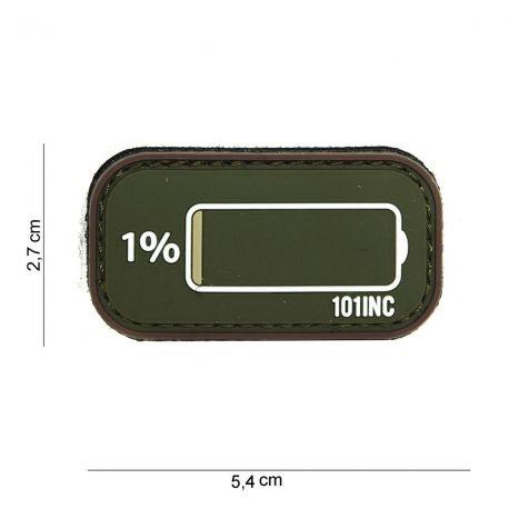 Low Power Patch 3D PVC