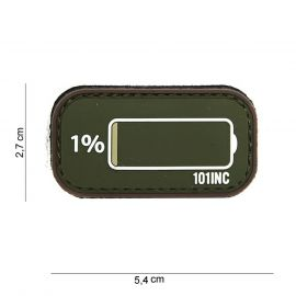 Low Power 3D PVC Patch