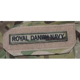ROYAL DANISH NAVY, MultiCam på Velcro