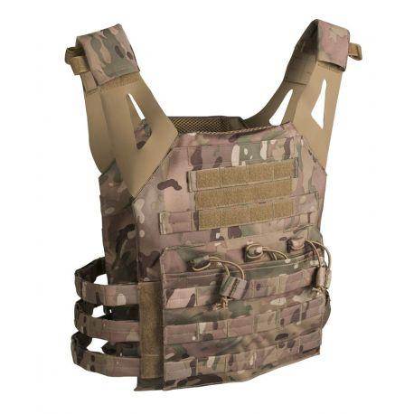 MIL-TEC - Plate Carrier vest Gen. II, Multicamouflage