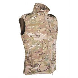 MIL-TEC - Softshell Vest, Multicamouflage (MTS)