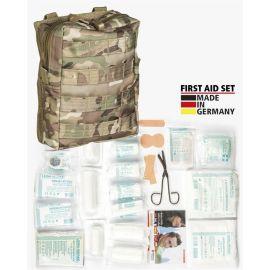 MIL-TEC - Førstehjælpstaske, Stor, Multicamouflage (MTS)