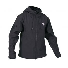 RAVEN - Soft Shell Jacket, sort