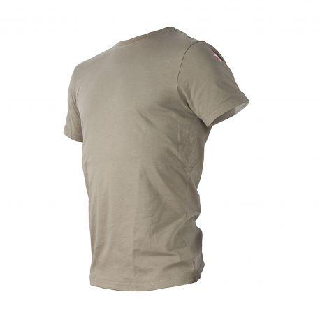MLV - Duty T-shirt med Dannebrog, MTS-Khaki