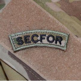 SECFOR - MultiCam på velcro