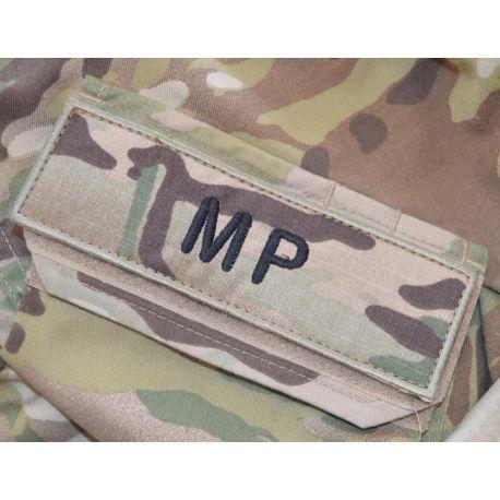 MP ærmemærke, MultiCam på velcro - Lille skrift