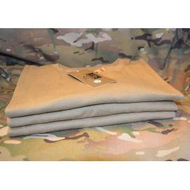 MLV - Duty T-shirt m/Dannebrog, MTS-Khaki - 3 PAK