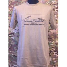 RAVEN - T-shirt, MTS-khaki - med MOTOV tryk