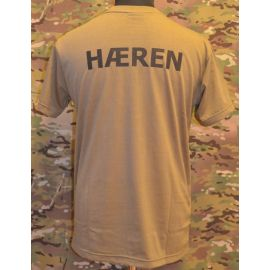 RAVEN - T-shirt, MTS-khaki - with HÆREN print