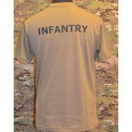 RAVEN - T-shirt, MTS-khaki - med INFANERY tryk
