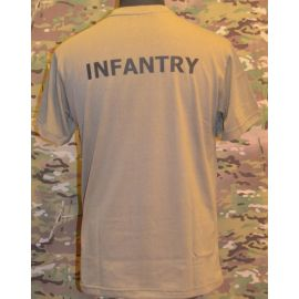 RAVEN - T-shirt, MTS-khaki - with INFANERY print