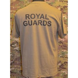 RAVEN - T-shirt, MTS-khaki - with ROYAL GUARDS print