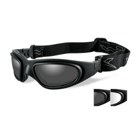Wiley X - SG-1 Smoke/Clear Matte Black Frame