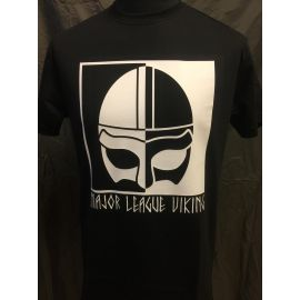 Major League Viking - T-shirt with Helmet, Black
