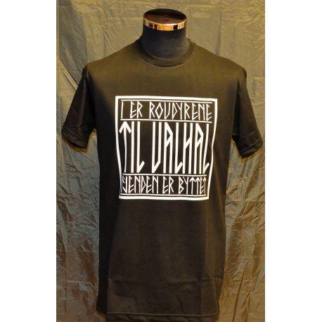 Major League Viking - T-shirt TIL VALHAL, sort
