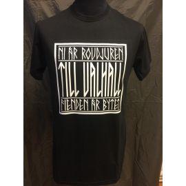 Major League Viking - T-shirt TIL VALHALL, Black
