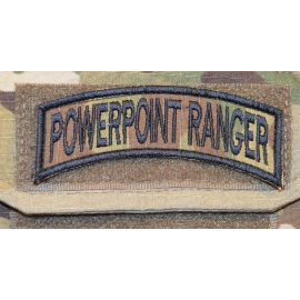 POWERPOINT RANGER - MultiCam - med velcro
