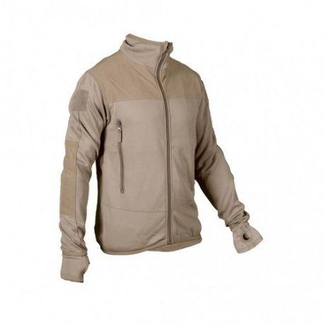 MLV - Tactical Tight Fleece (TTF), u/hætte, MTS-Khaki