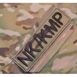 NK/KMP ærmemærke, MultiCam på velcro