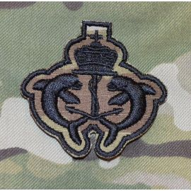 Dansk UBÅDs Emblem, IRON-ON - MultiCam