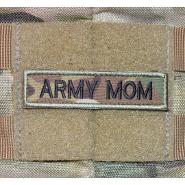 ARMY MOM - MultiCam med velcro