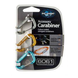 Accessory Carabiner Set 3pcs Mixed