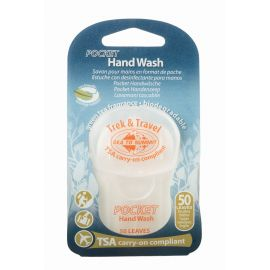 Trek&Travel Pocket Hand Wash 50 Leaf