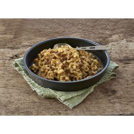 Jægergryde m. pasta og oksekød